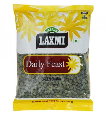 Laxmi Daily Feast Green Chana 500 GM