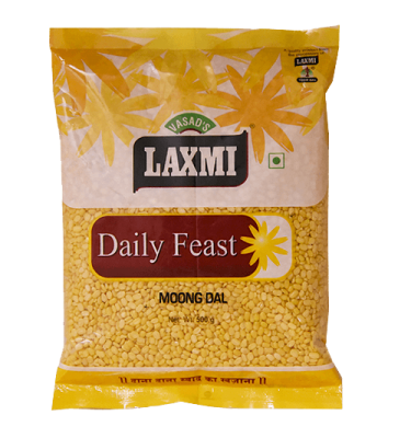 Laxmi Daily Feast Moong Dal 500 GM