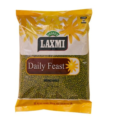 Laxmi Daily Feast Moong Whole 1 KG