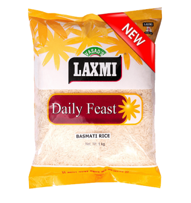 Laxmi Daily Feast Basmati Rice 1 KG